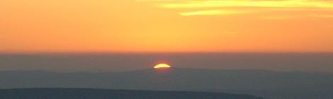 Sunset at Shenandoah(Bobbie Faul-Zeitler, (CC 3.0)