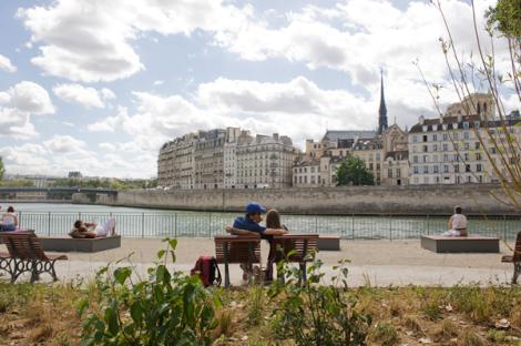 Bord de la Seine/Courtesy Mairie Paris