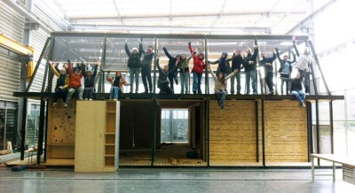 Students worldwide want a greener world! The European Solar Decathlon 2012. Students from Rhone Alpes team (they won the Decathlon)