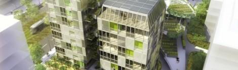 Rhone-Alpes Team schematic of modular solar-powered tower