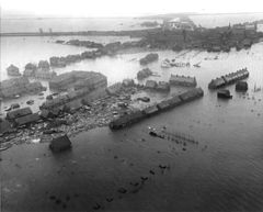 The 1953 Flood: Oude-Tonge Goeree-Overflakkee flooding