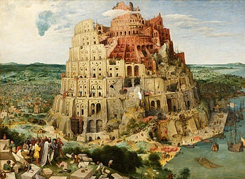 Tower of Babel by Pieter Breughel, Courtesy of Google Art Project