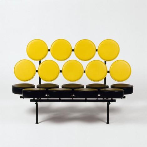 "Sofa on view at ""Pop Design"" exhibition, Vitra Design Museum."