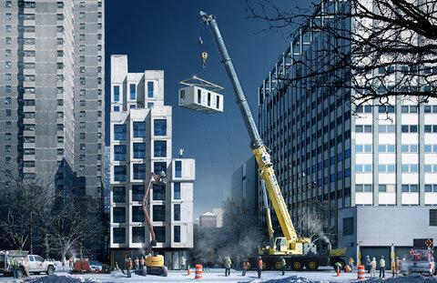 Prefab stackable housing units