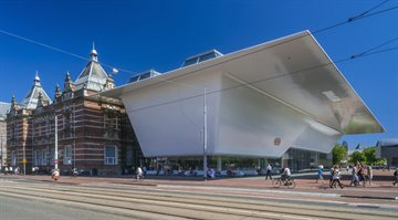 Addition to the Stedelijk Museum in Amsterdam