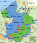 Flevoland Map