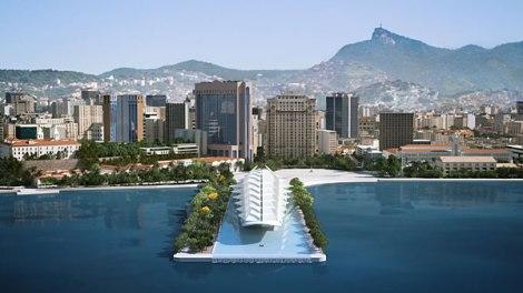 Museum of Tomorrow, Rio. Courtesy of Santiago Calatrava.