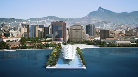 Museum of Tomorrow, Rio. Courtesy of Santiago Calatrava.