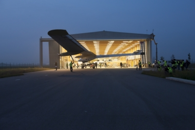 Solar Impulse Photo © Fred Merz