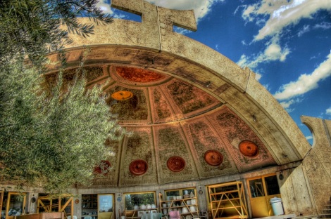 Arcosanti Apse (Arziona) Photo courtesy of CodyR Wiki Commons