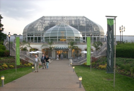 Phipps Conservatory & Botanical Gardens' LEED-certified Visitors' Center