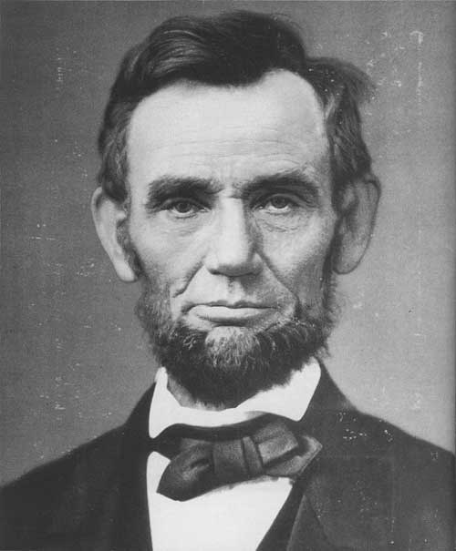 Abraham Lincoln as he looked 11 days before he gave the Gettysburg Address on Nov 19, 1843. Courtesy of the USAHMI.