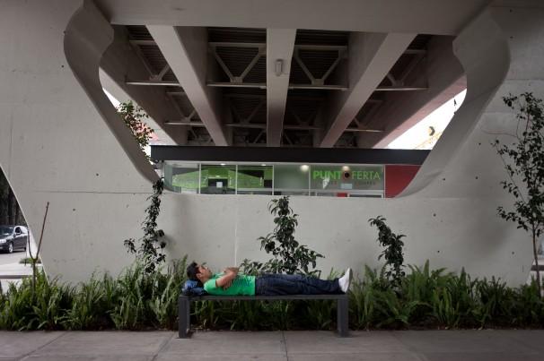Bajo Puentes site in Mexico City