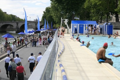 Paris Plages Courtesy of the Mayor's Office