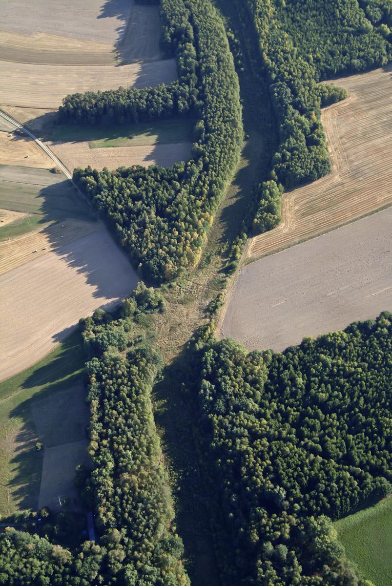 German border at Burggrub