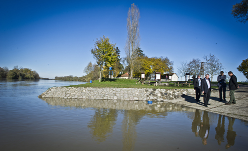 Croatia-Hungary Biosphere is part of a 5-country cross-border initiative. November 2012 photo © Martin Schneider-Jacoby