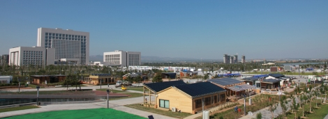 Solar-powered, student-built, and awesome! The China Solar Decathlon is underway -- houses going up.