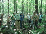 Fieldwork at Powder Mill Nature Reserve