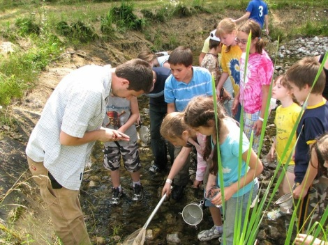 Education workshops, programs for kids and outdoor experiences are powderful ways to reinforce the idea that we have only one planet to live on! At Powdermill Nature Reserve.