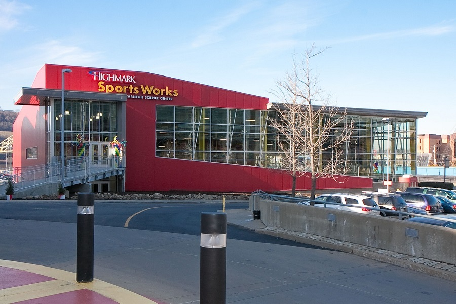 The LEED-certified Highmark Sportsworks (Carnegie Museums) uses energy monitoring to capture real time data and create an historical record of energy used.