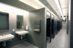 Toilets at the Carnegie Museum of Natural History