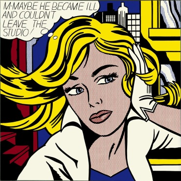 Roy Lichtenstein Retrospective. Photo all rights reserved