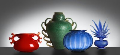 Venini Glass exhibition Venice