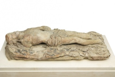 Dead Christ c.1500-1520 was damaged in the 16th century. Photo: Marcus Leith and Andrew Dunkley/The Mercers' Company/via Tate.
