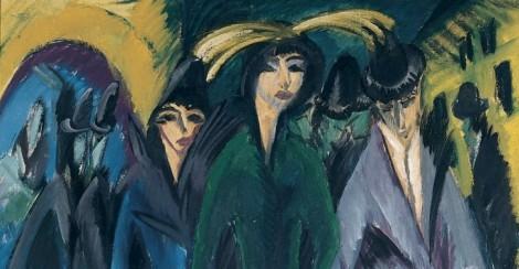 Frauen auf der Strasse Ernst Ludwig Kirschner, 1915, Von de Heydt Museum Wuppertal