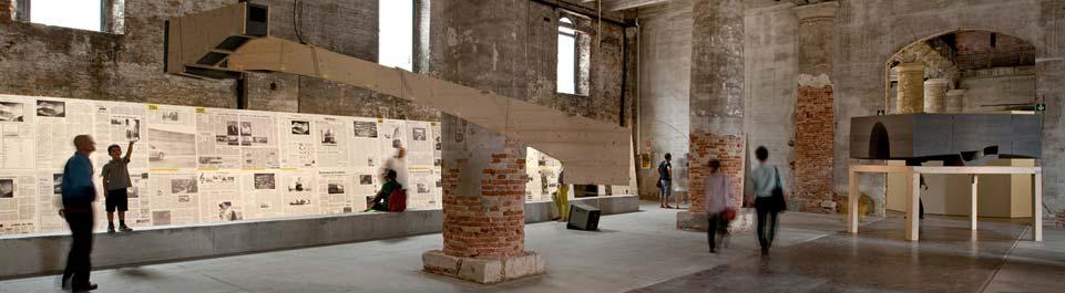 Biennale's great Arsenale exhibition space