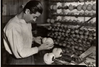Dollmaker, Photo by Lewis Hine