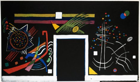 Kandinsky panel, Centre Georges Pompidou