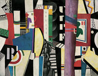 The City 1919 Fernand Léger © Artists Rights Society (ARS), New York / ADAGP, Paris