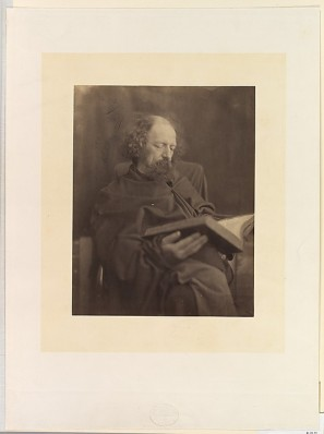 Alfred, Lord Tennyson Reading, Julia Margaret Cameron. Collection of the Metropolitan Museum of Art
