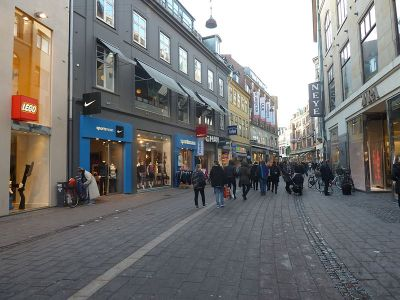 Courtesy of Leif Jørgensen, the street Vimmelskaftet in Indre Copenhagen