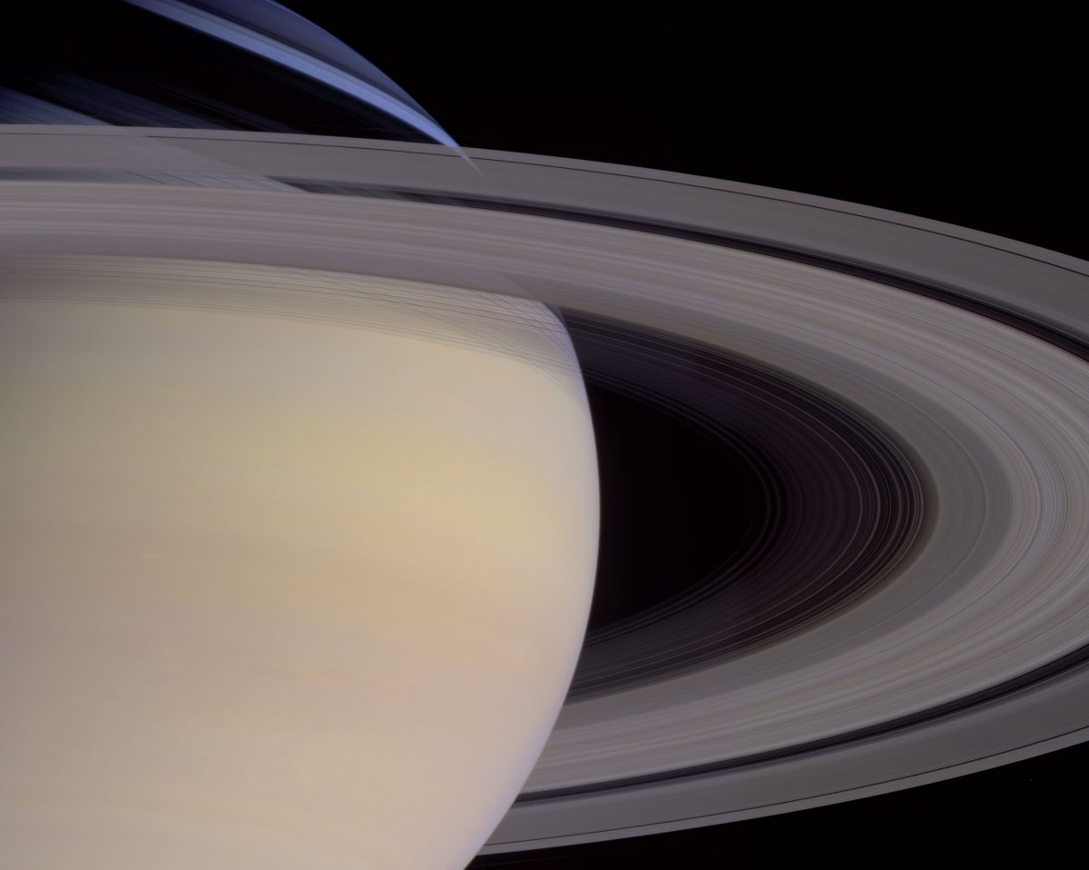 Rings of Saturn from Planetfall