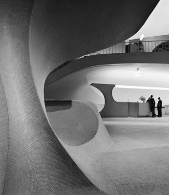 TWA Flight Center Idlewild Airport (pre JFK) Photo by Balthazar Korab