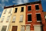 Boarded up residences in north Philadelphia. Courtesy of egoldin