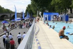 Paris Plages provides summer amenities of city residents. Courtesy of Mairie de Paris.