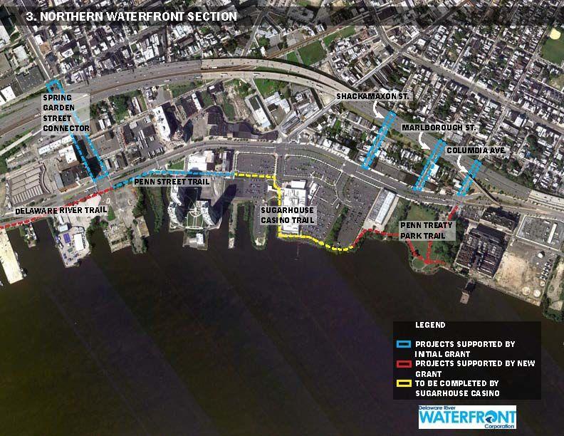 Philadelphia Waterfront Schematic