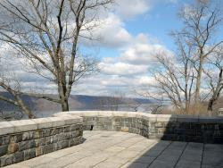 View from West Terrace of the Cloisters