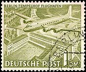 Berlin airlift stamp 1949