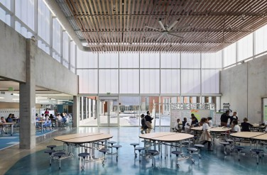 Bright and spacious a good learning environment at Henderson Hopkins School Courtesy Rogers Partners