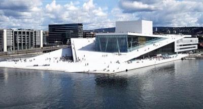 Oslo Opera House Foto: birdseyepix.com/Christopher Hagelund