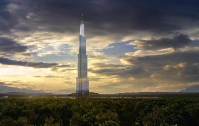 Sky City Tower rendering -220 stories