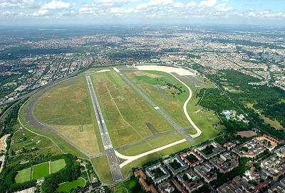 Tempelhof aerial view