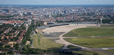Former Tempelhof airport Berlin Photo by D Laubner
