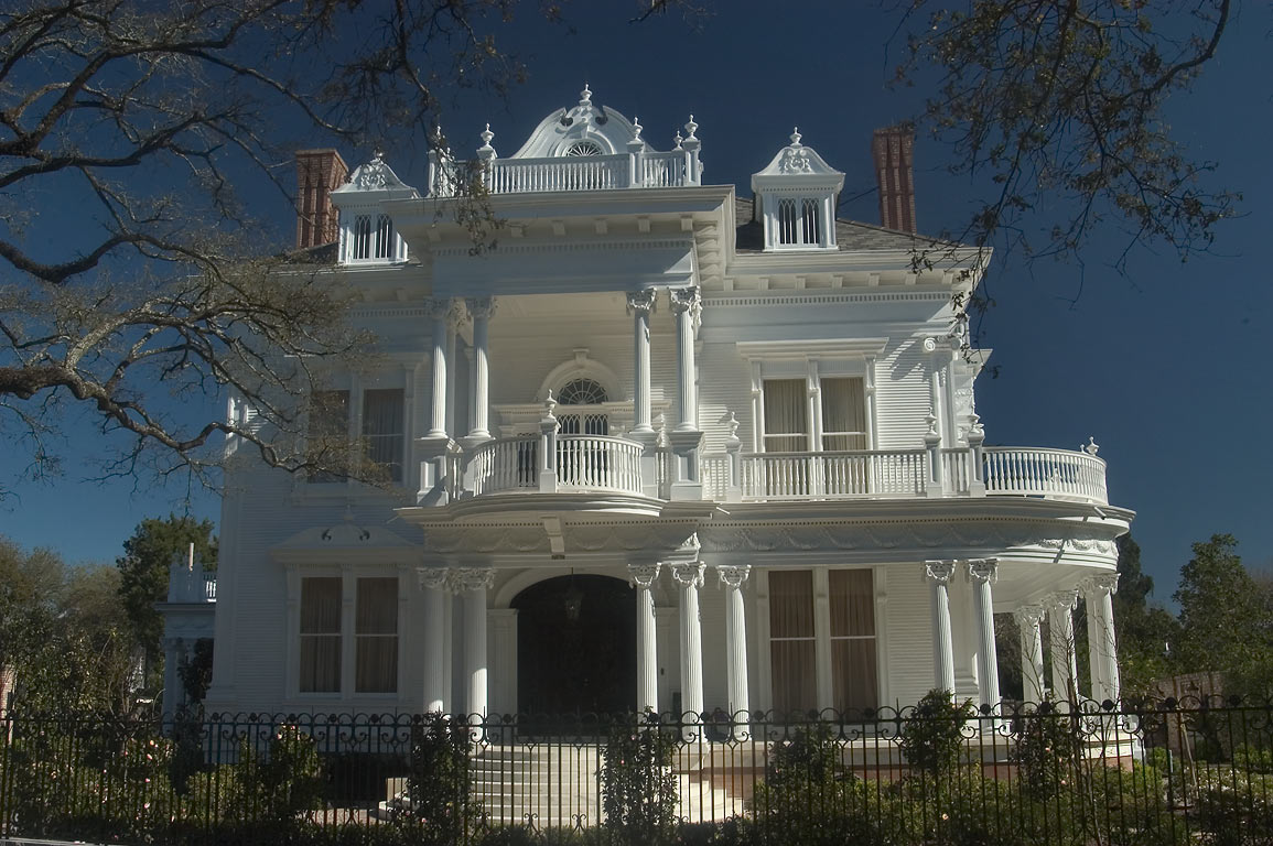 The Wedding Cake House, on Saint Charles Avenue