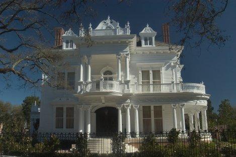 The Wedding Cake House, on Saint Charles Avenue
