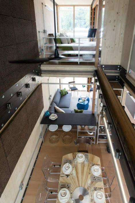 Maison Reciprocite seond floor view Courtesy of B. Dudley Carter
